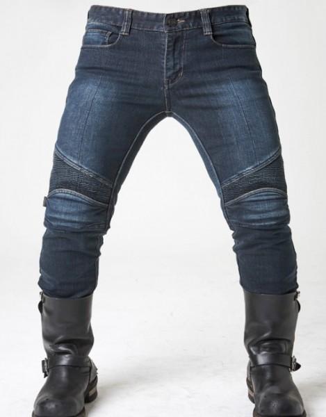 "uglyBROS - ""Kingpin Blue"" - men's motorcycle jeans W38 to W42"
