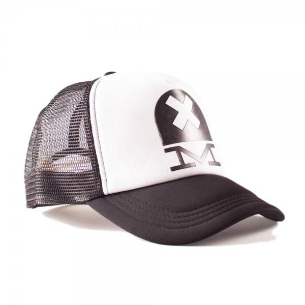 """DEUS EX MACHINA Hat - """"Deusxm Trucker"""" - black & white"""