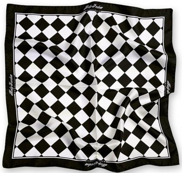 """HOLY FREEDOM silk scarf - """"Bullit Foulard"""" - black"""