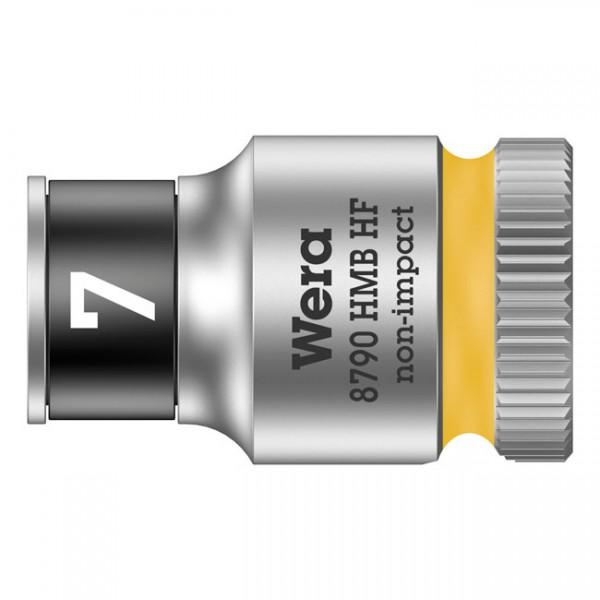 """WERA Werkzeug - """"Wera Zyklop 3/8""""-Nuss mit Haltefunktion - Metrisch 7,0"""" - Hex bolts and nuts"""