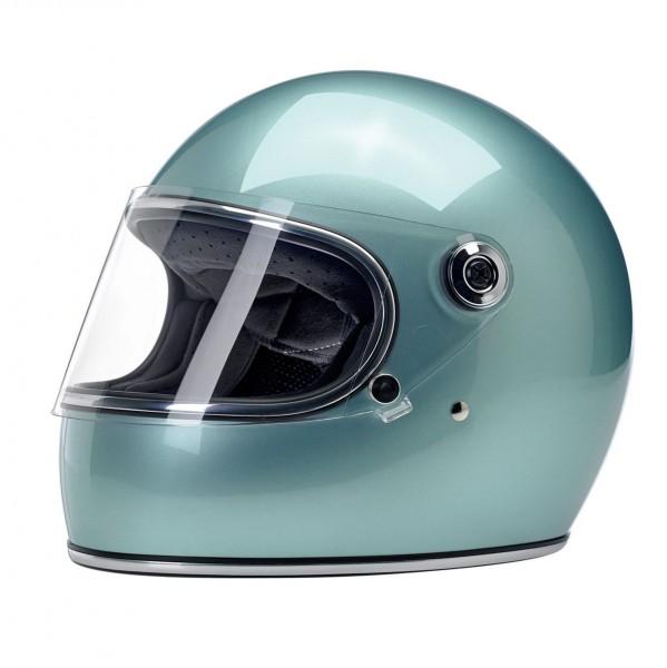 Biltwell Gringo S Helmet ECE Metallic Sea Foam