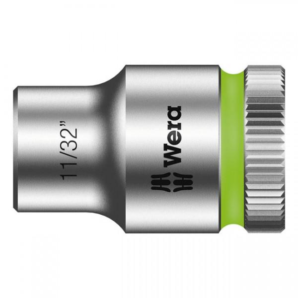 """WERA Werkzeug - """"Wera Zyklop 3/8""""-Nuss - US-Größen 11/32"""""""" - Hex bolts and nuts"""