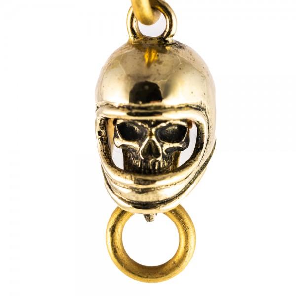 """SEVENTIES Keychain - """"Full Face Skull"""""""