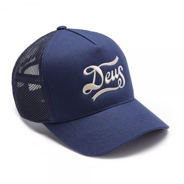 """DEUS EX MACHINA Hat - """"Jones Trucker"""" - navy"""