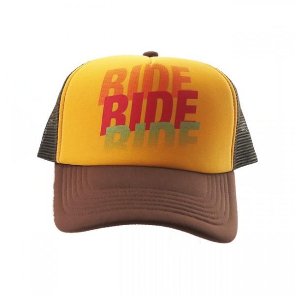 ROEG Trucker Hat Ride Four brown