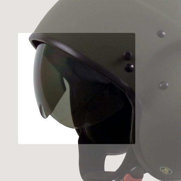 """DRAXTAR - """"P-104"""" - dunkel getöntes Visier"""