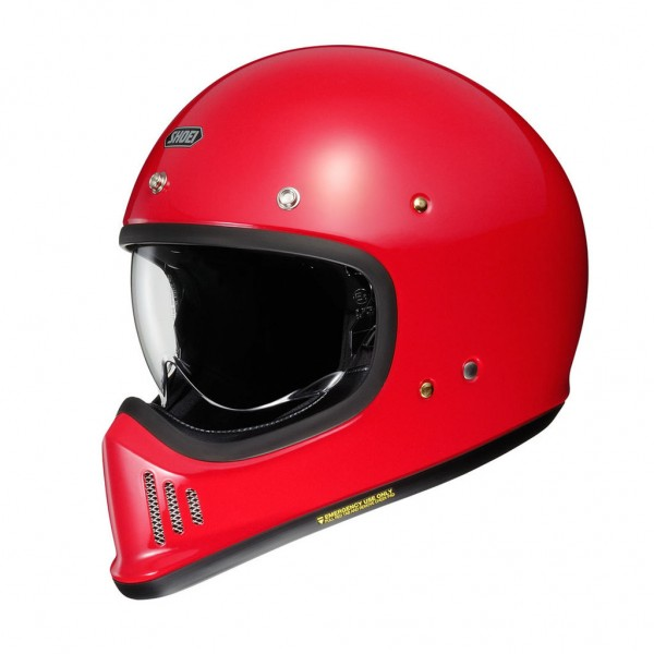 "SHOEI EX-Zero - ""Red"" - ECE"