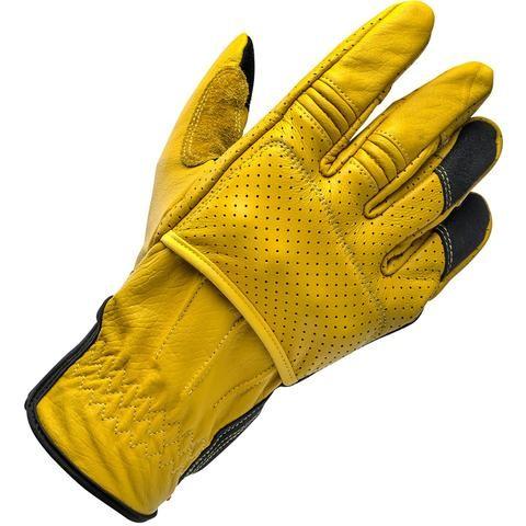 "BILTWELL Handschuhe - ""Borrego Gold/ Black CE"" - gelb & schwarz"