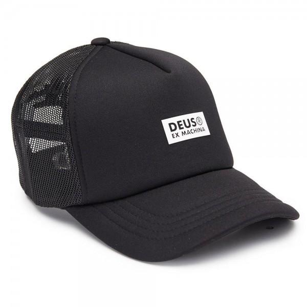 """DEUS EX MACHINA Hat - """"Silicon Trucker"""" - black"""
