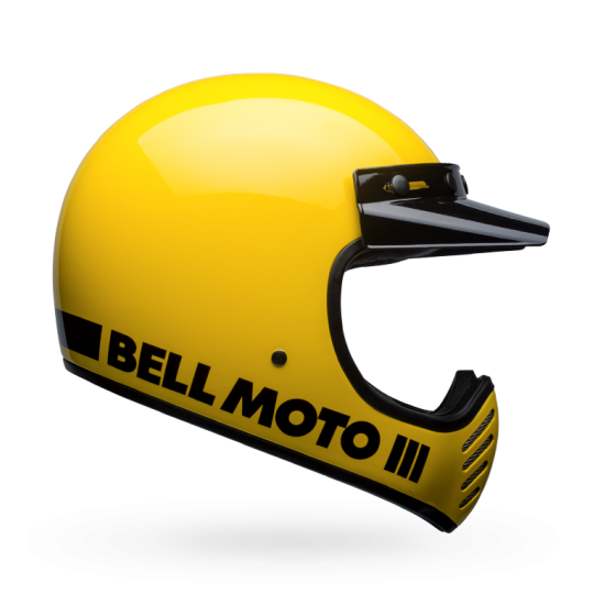 BELL Moto 3 Classic Yellow with ECE
