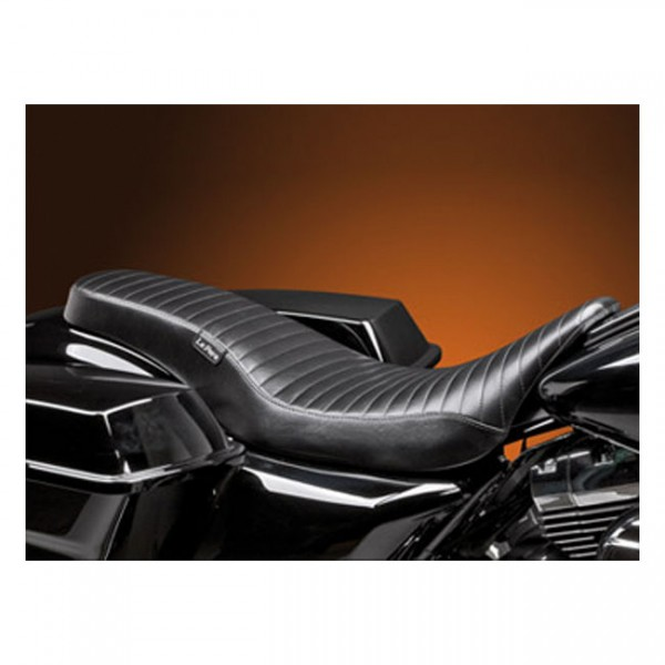 "LEPERA Seat - ""LePera, Cobra 2-up seat. Pleated"" - 08-20 Touring"