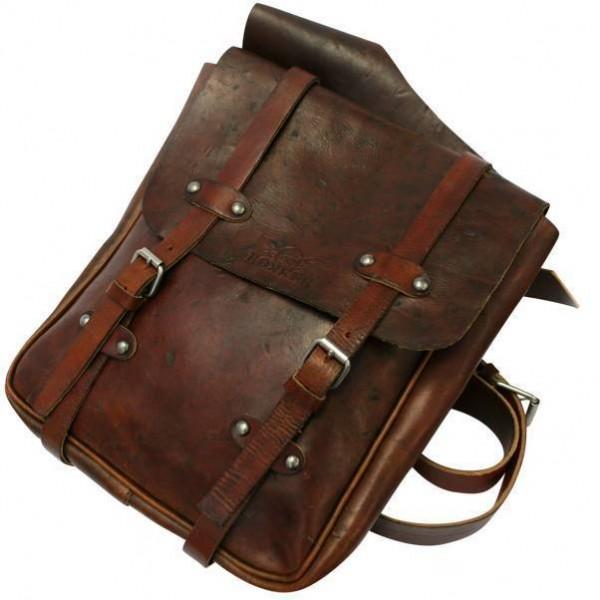 """ROKKER Bag - """"Saddle Bag"""" - brown"""