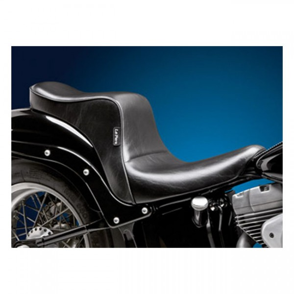 """LEPERA Sitz - """"Cherokee 2-up seat. Smooth. Gel"""" - 06-17 Softail with 200mm rear tire"""