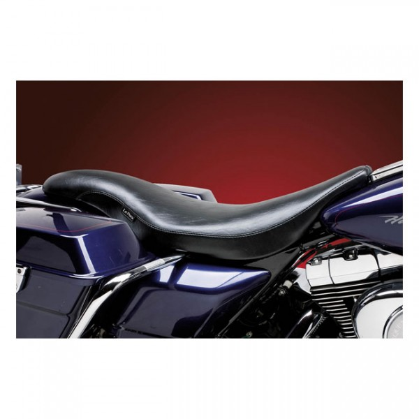 "LEPERA Sitz - ""King Cobra 2-up seat. Smooth"" - 06-07 FLHX(NU)"