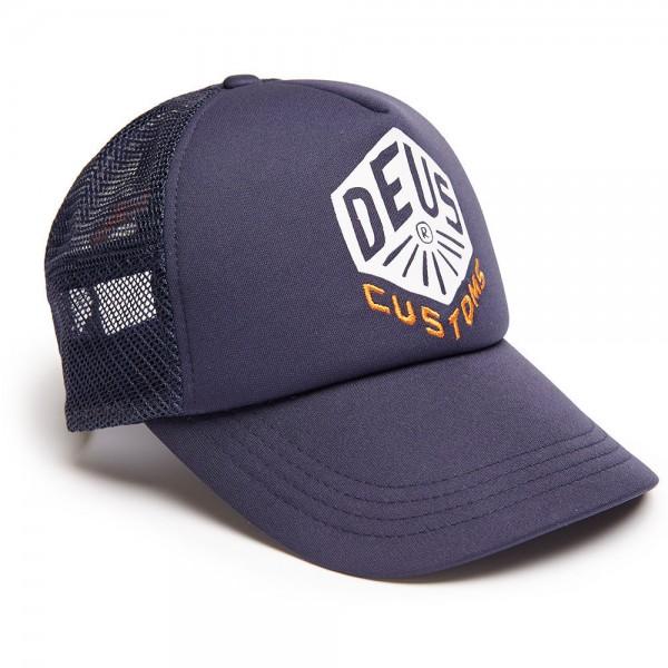 """DEUS EX MACHINA Hat - """"Skoot Trucker"""" - navy"""