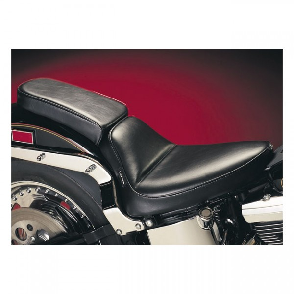 "LEPERA Seat - ""LePera, Cobra solo seat. Smooth"" - 84-99 Softail (NU)"