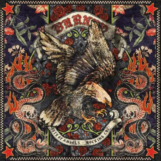 """RUDE RIDERS Tuch - """"Eagle Rock"""" - 130 x 130 cm"""