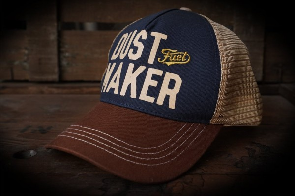 "FUEL Cap - ""Dust Maker"" - blau & braun"