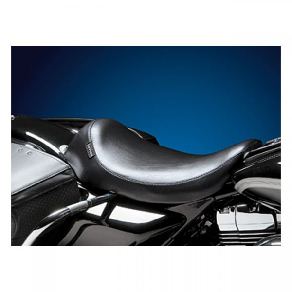 """LEPERA Sitz - """"Silhouette solo seat. Smooth"""" - 94-96 FLHR Road King (NU)"""