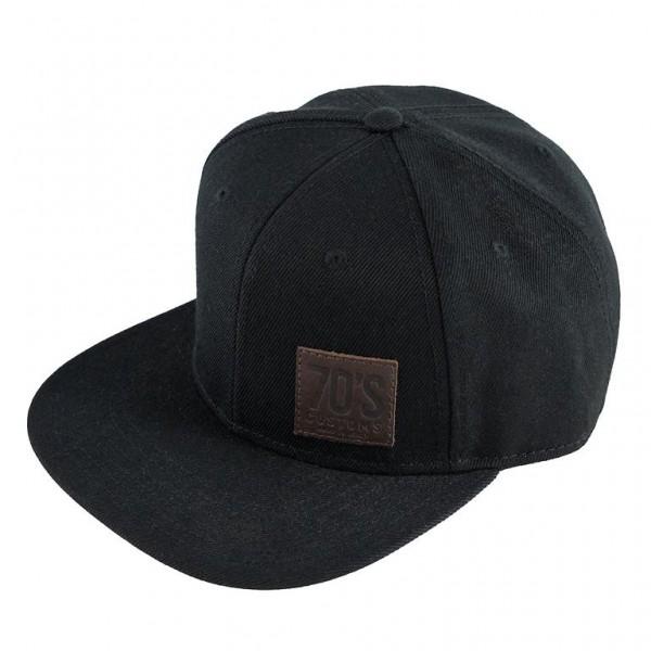 SEVENTIES Hat Snap6 black
