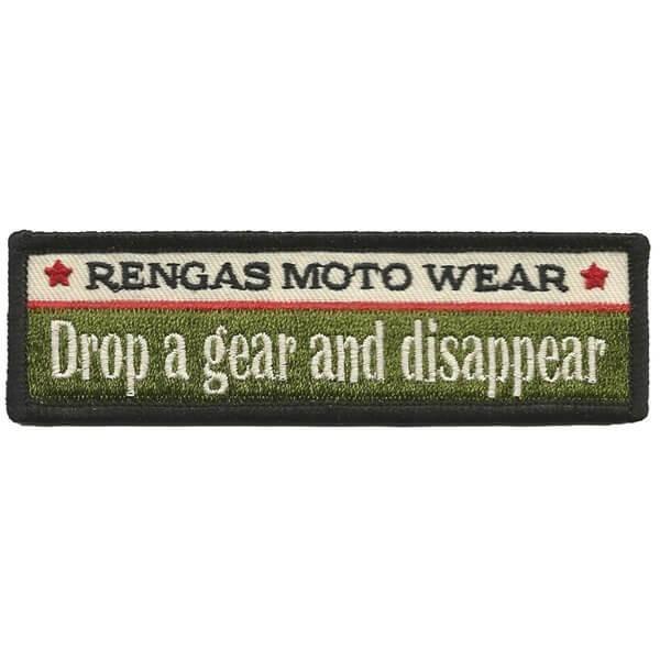 "RENGAS Patch - ""Drop A Gear"""
