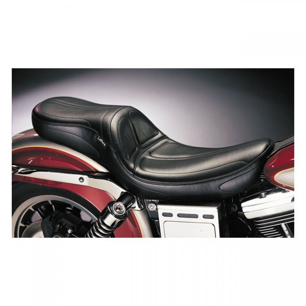 "LEPERA Seat - ""LePera, Maverick 2-up seat. Gel"" - 96-03 Dyna (excl. FXDWG) (NU)"