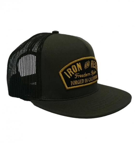 """IRON & RESIN Hat - """"Ranger"""" - olive"""