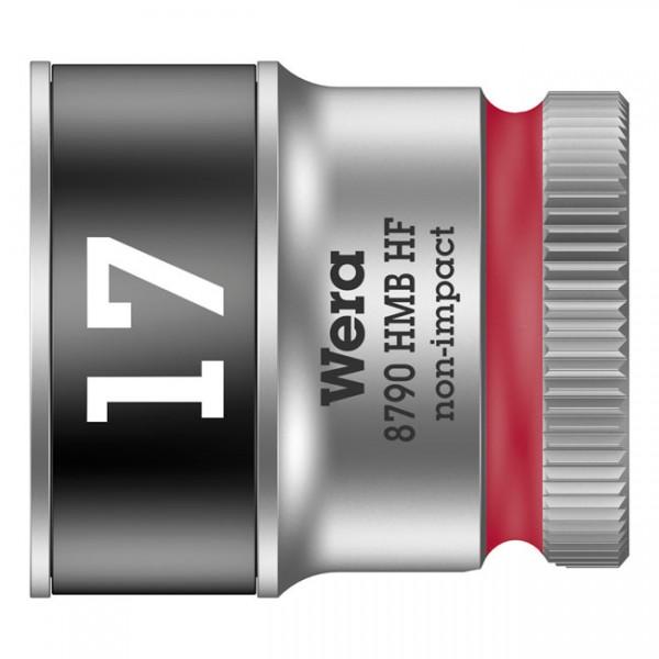 """WERA Werkzeug - """"Wera Zyklop 3/8""""-Nuss mit Haltefunktion - Metrisch 17,0"""" - Hex bolts and nuts"""