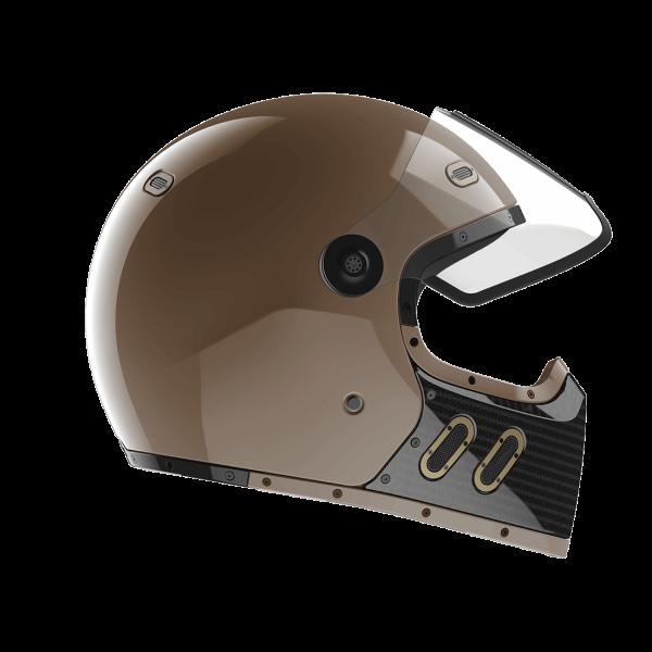 Qwart Helmet Phoenix VLE Cafe Latte