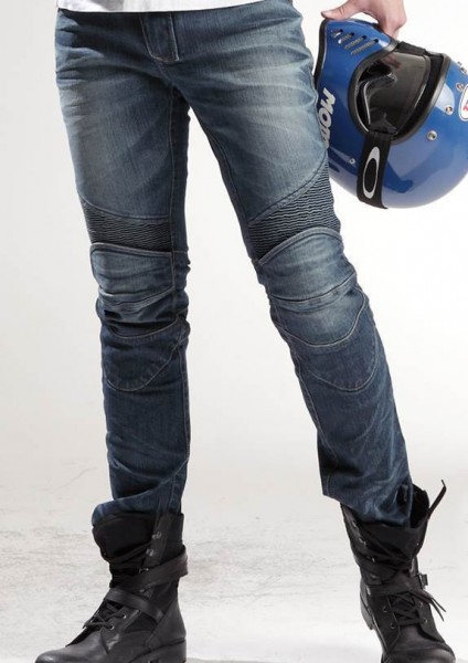 uglyBROS - Featherbed Original Blue - men's motorcycle jeans