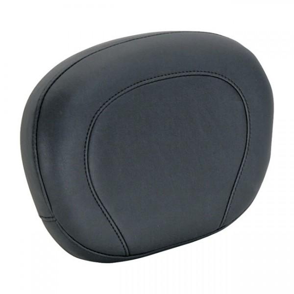 """MUSTANG Seat - """"Mustang, Vintage sissy bar back pad. Black"""" - 11-13 FXS Softail Blackline; 12-17 FLS Slim; 16-17 FLSS Slim S (NU)"""