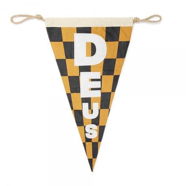 """DEUS EX MACHINA - """"Surf Flag"""" - schwarz & gold"""