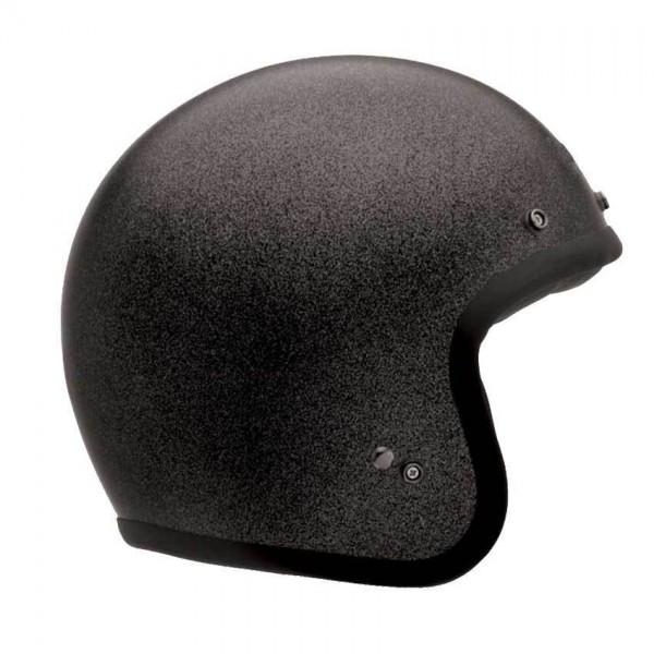 "BELL Custom 500 - ""Solid Black Flake"" - ECE"