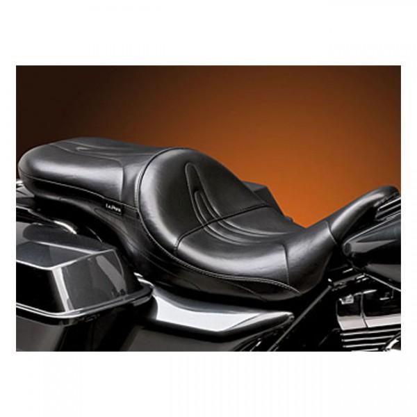 """LEPERA Seat - """"LePera, Sorrento 2-up seat. Gel"""" - 08-20 Touring"""