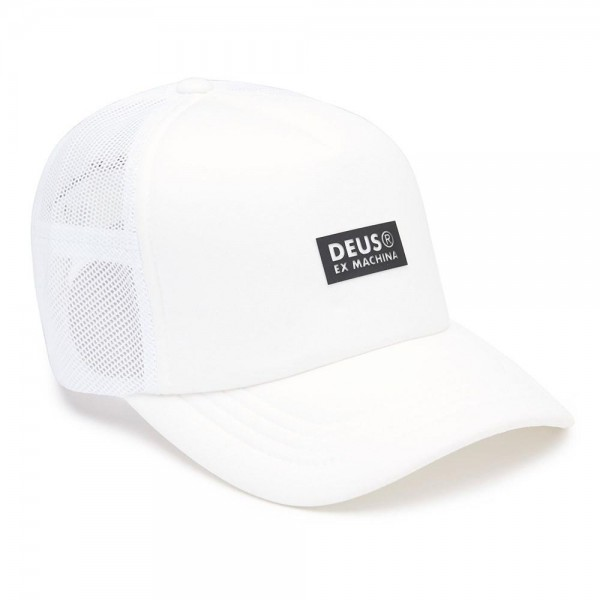 "DEUS EX MACHINA Cap - ""Silicon Trucker"" - weiß"