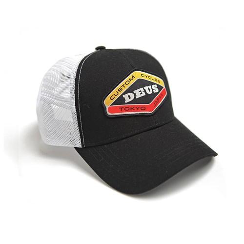 DEUS EX MACHINA hat Loco Trucker in black