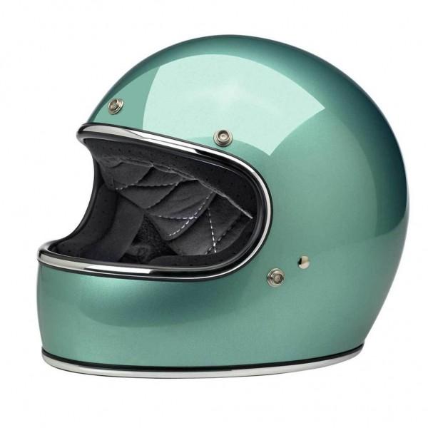 Biltwell Full Face Helmet Gringo Sea Foam with ECE DOT