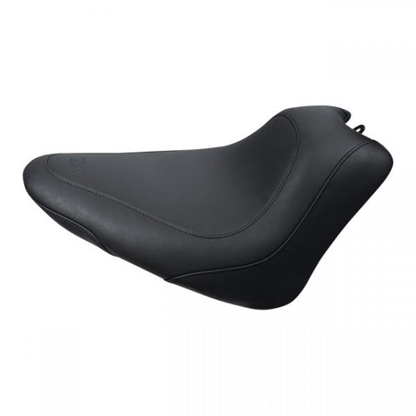 "MUSTANG Sitz - ""Mustang, Wide Tripper solo seat"" - 11-13 Softail FXS Blackline; 11-17 FLS/S Softail"