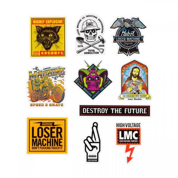 LOSER MACHINE COMPANY Sticker Pack