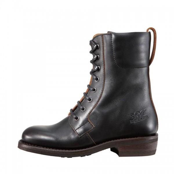 "ROKKER Women's Motorcycle Boots - ""Urban Racer Lady"" - antique black"