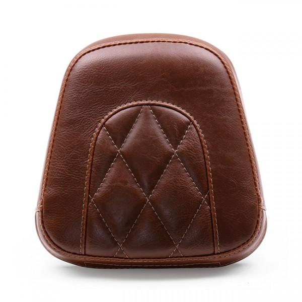 """MUSTANG Seat - """"Mustang, Vintage sissy bar back pad. Brown Diamond"""" - 11-13 FXS Softail Blackline; 12-17 FLS Slim; 16-17 FLSS Slim S (NU)"""