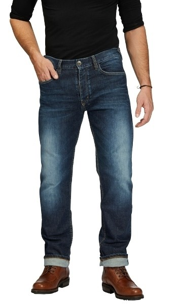 """ROKKER Jeans - """"Iron Selvage"""" - Dynatec, blue"""