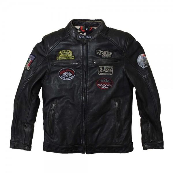 """HOLY FREEDOM Jacket - """"Zero"""" - black"""