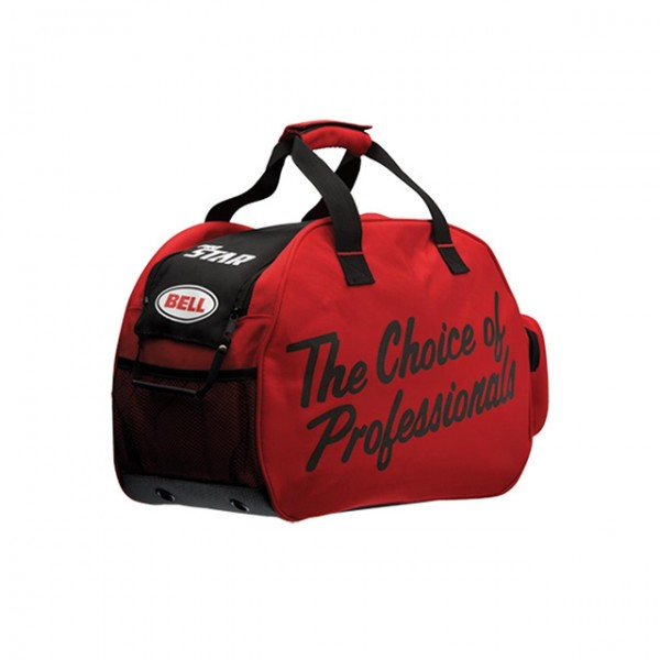 BELL Helmet Bag The Choice of Professionals in red