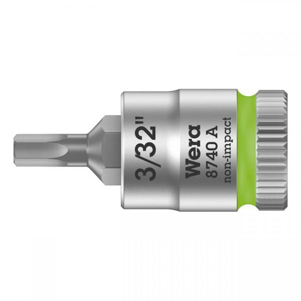 "WERA Tools - ""Zyklop 1/4"" Hex socket bit - US sizes"" - Hex (Allen head) bolts/screws"