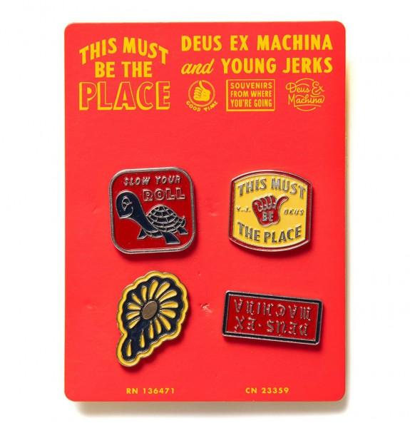 DEUS EX MACHINA Souvenir Pins