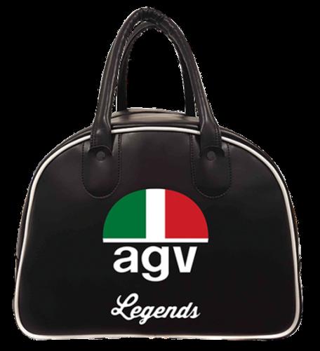 "AGV Helmtasche - ""AGV Legends"" - schwarz"