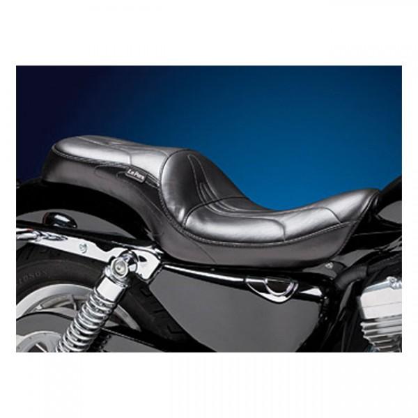 "LEPERA Sitz - ""Sorrento 2-up seat"" - 04-20 XL (excl. 07-09 XL) with 3.3 gallon fuel tank"