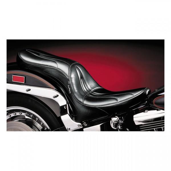 """LEPERA Seat - """"LePera, Sorrento 2-up seat. Gel"""" - 84-99 Softail (NU)"""