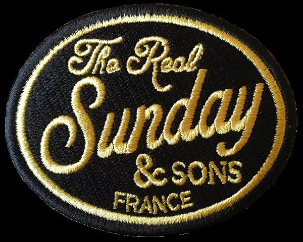 "SUNDAY SPEEDSHOP Aufnäher - ""Sunday & Sons"""